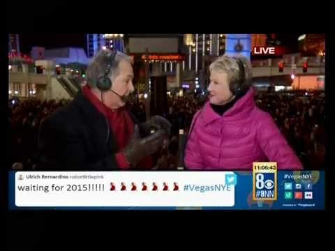 Fired Up for 2015, New Year's Eve Las Vegas, KLAS 8 News Now, Dec. 31, 2014
