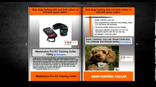 Anti Bark Collar - Anti Bark Spray - Special Offers
