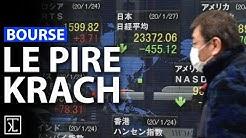 Bourse : le pire krach de l'histoire financière !