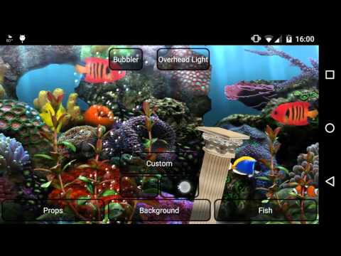 Aquarium Free Live Wallpaper