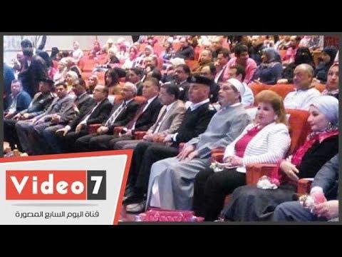 مؤتمر حاشد بقصر ثقافة الإسماعيلية لتأييد الرئيس السيسي  - 22:22-2018 / 3 / 20