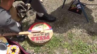 Friends Pickin in Libby , Montana . Video 1