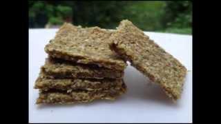 * Walnut Flax Crackers*