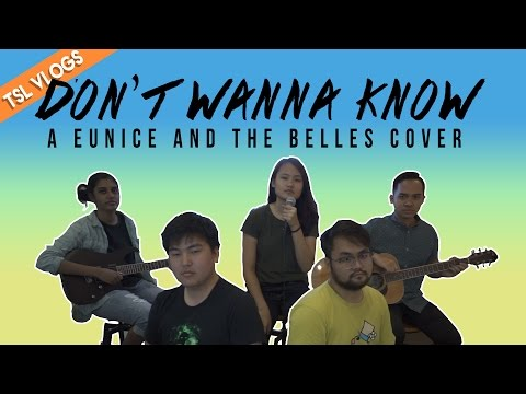 WE MADE AN OFFICIAL TSL BAND AND PLAYED MAROON 5'S DON'T WANNA KNOW   TSL Vlogs   EP 40