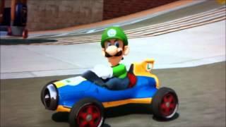 Luigi Wins for Glory!!!