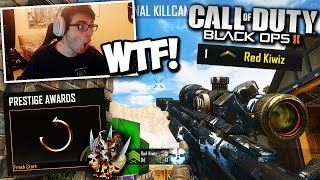 I GOT HACKED AND I HAD TO RESET MY STATS! (I HIT A SHOT AFTER!) - BO2 Trickshotting