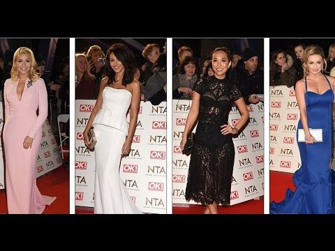 British TV's glamorous women flash the flesh as they gear up to party after the NTA Awards 2017 thumbnail