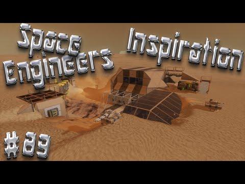 Space Engineers Inspiration - Episode 89: Vipera Cruiser, Dantus Desert Outpost, & City of Rapture