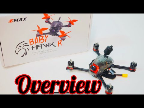 Babyhawk R micro drone overview
