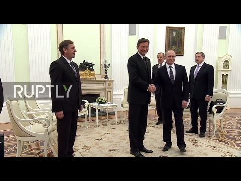Russia: Putin and Slovenian President Pahor discuss bilateral and EU ties