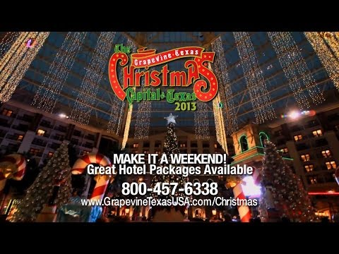 "Grapevine's ""Christmas Capital of Texas"" 2013 Video Guide"