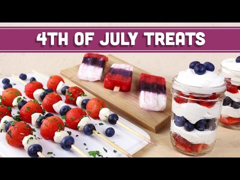 4th of July Treats (Healthy, Vegetarian) Mind Over Munch