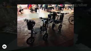 86km TGIS Scoot! Flattened Butt 😭 #GENESISSCOOTS Garmin Relive DYU Electric Scooters RyanGenesis +
