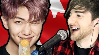 Video Canadian Tries To Sing K-POP | (BTS Cypher 4!!) download MP3, 3GP, MP4, WEBM, AVI, FLV Mei 2018