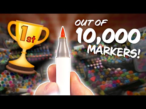 I Found The WORLD'S BEST MARKER - I Tried Them ALL...