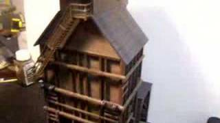 Walther's Wooden Coaling Tower Kit