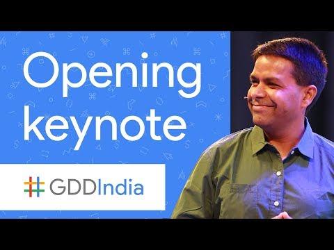 Opening Keynote (GDD India '17)