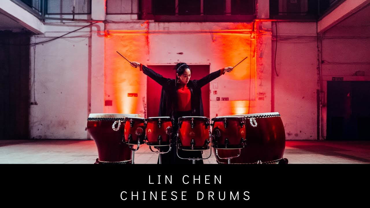 SILK::ROAD - Lin Chen (chinese drums)