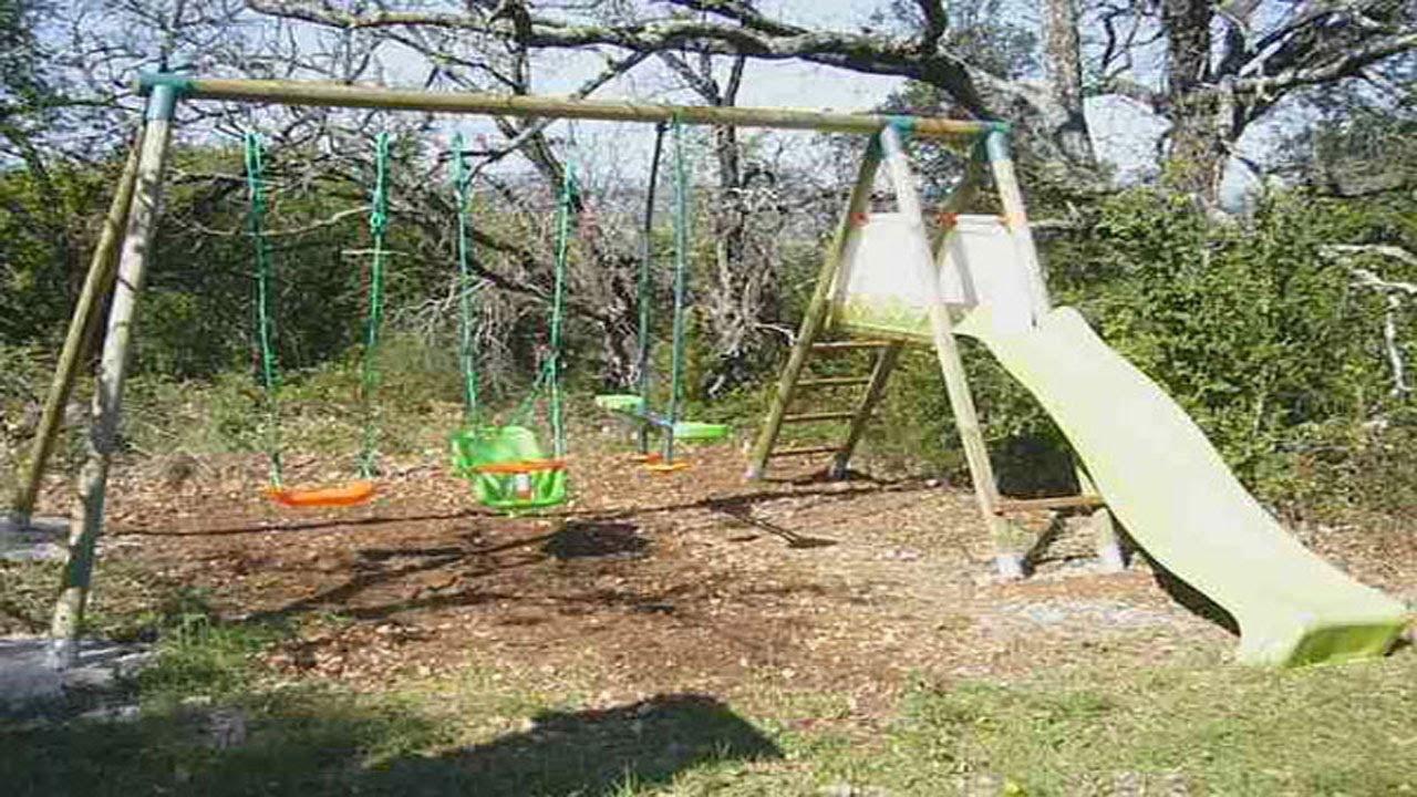 montage d un portique pour jeux d enfants