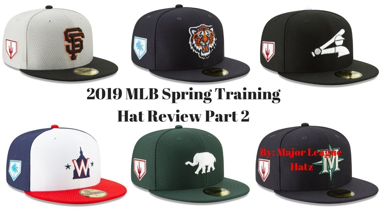 51807e588 MLB New Era 2019 Spring Training Hat Review Part 2