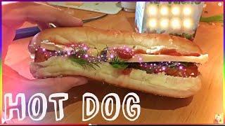 Как сделать хот дог дома дружно всей семьей | How to make a hot dog at home together as a family
