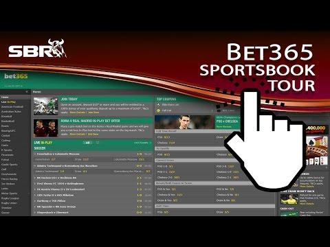 Bet365 Sportsbook site tour