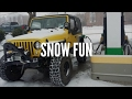 Snow Fun Pt 1 - 2002 Jeep Wrangler TJ Ice Adventure