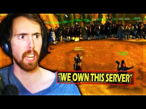Asmongold OBLITERATES The HORDE In Huge Un'Goro & Tanaris WORLD PVP Domination – Classic WoW