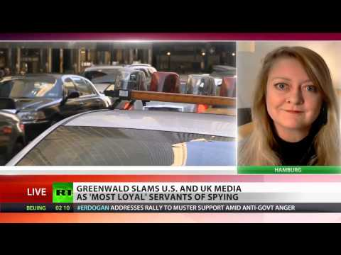 Most UK media concertedly ignore Snowden revelations, under govt pressure