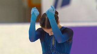 Анна Щербакова Короткая программа Женщины Кубок России по фигурному катанию 2020 21