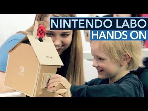 Nintendo Labo ausprobiert - Daumen hoch für den Papp-Baukasten