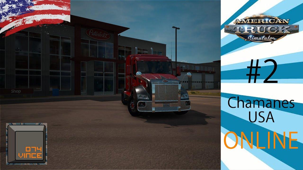 american truck simulator online