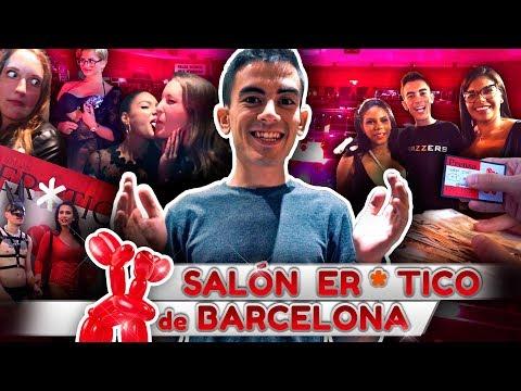 Invitado de Honor entre las actrices TOP en el Salón Eró**co de Barcelona 😎