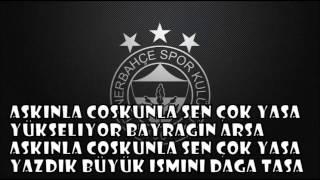 Fenerbahçe 100. Yıl Marşı --- Söz mix cabir candogan Video