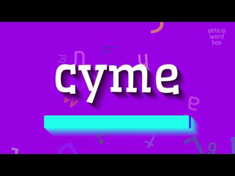 """How to say """"cyme""""! (High Quality Voices)"""