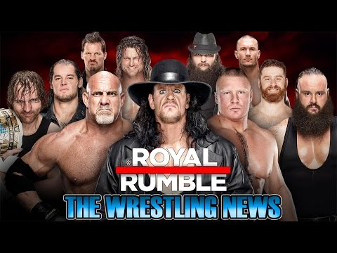 The Wrestling News - Royal Rumble PPV 2017