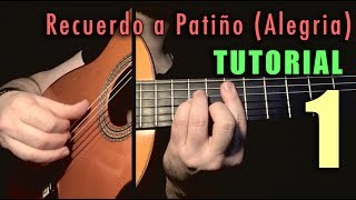 Mixed Technique Exercise - 17 -  Recuerdo a Patiño (Alegria) INTRO by Paco de Lucia