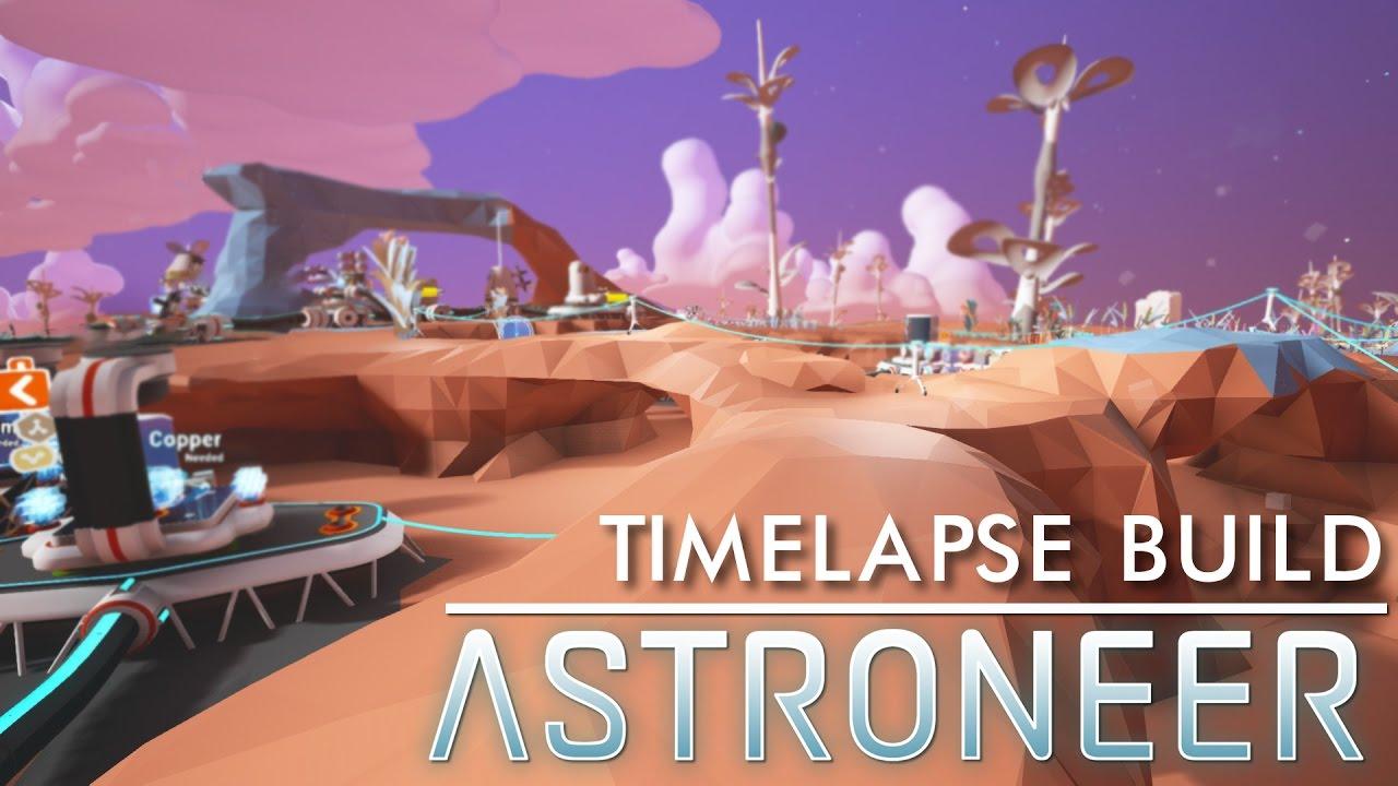 CRAZY MARS BASE IN ASTRONEER! - YouTube
