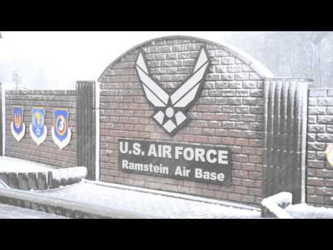 Ramstein Air Base in Winter 2016
