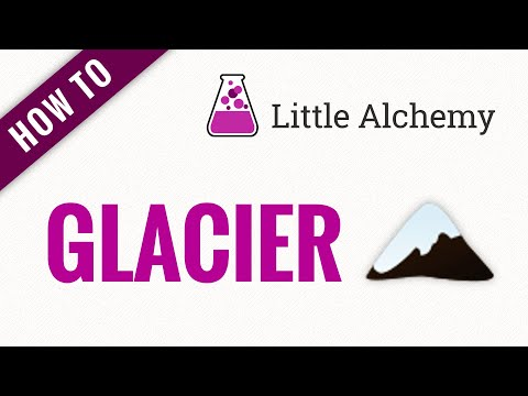 How to make a Glacier in Little Alchemy