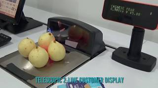 The Complete Grocery Retail Solutions with CashGuard CM, Scale + Scanner & POS Display Systems