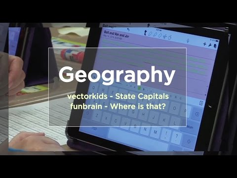 Tech EDGE, Mobile Learning In The Classroom - Episode 53, Geography