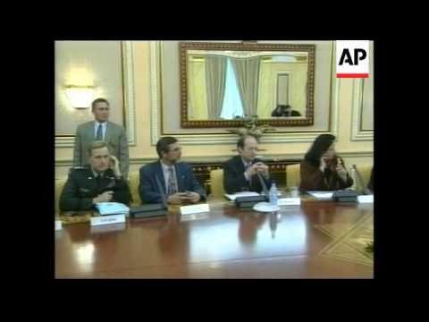 KAZAKHSTAN: MADELEINE ALBRIGHT & PRESIDENT NAZARBAYEV