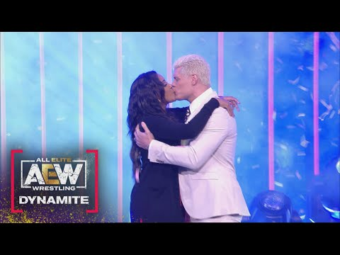 A Very Special Message from Brandi and Cody Rhodes | AEW Dynamite