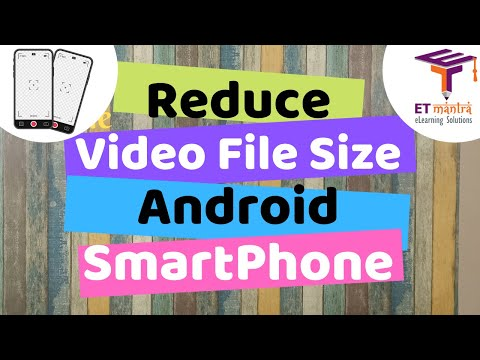 Reduce Video File Size In Android Mobile | Video Compression In Android Smartphone | Compress Video