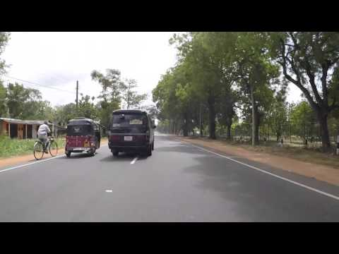 Sri Lanka Route Dambulla Sigirya, Gopro / Sri Lanka Road Dambulla Sigirya, Gopro