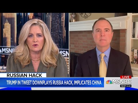 """Rep. Schiff on MSNBC: """"I don't think there's any question but that it was Russia"""""""