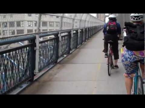 Daily News Manhattan Bridge Ride 8/15/11