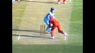 Rate this lightning piece of wicketkeeping- a stumping of pure class