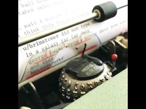 The new IBM ball molder typewriter machine 2018